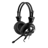 Casti cu microfon A4tech HS-28-3, Argintiu/negru