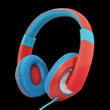 Casti cu microfon Trust Sonin Kids Headphones - red