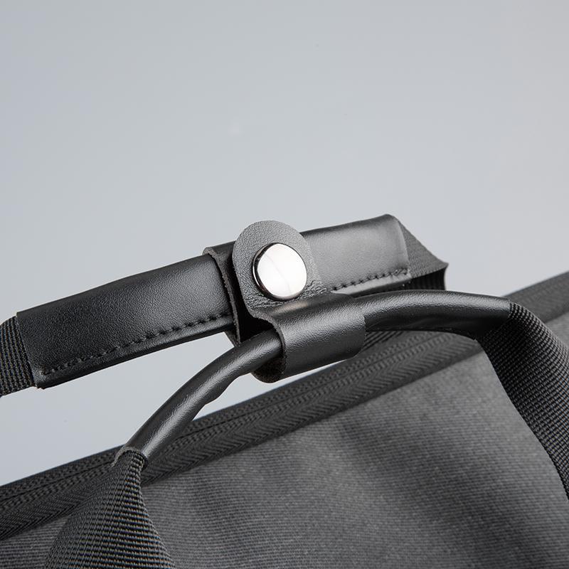 """Geanta notebook Serioux, SMART TRAVEL ST9610, dimensiuni 43 x 11 x 30 cm, rezistent la apa, compartimente multiple, compartimet laptop pana la 15.6"""", bretea spate pentru prindere troller, curea de umar ajustabila, material poliester - imaginea 6"""