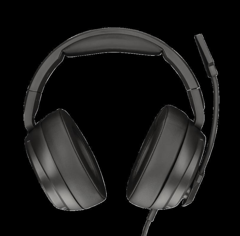 Casti cu microfon Trust GXT 433 Pylo Multiplatform Gaming, negru - imaginea 4