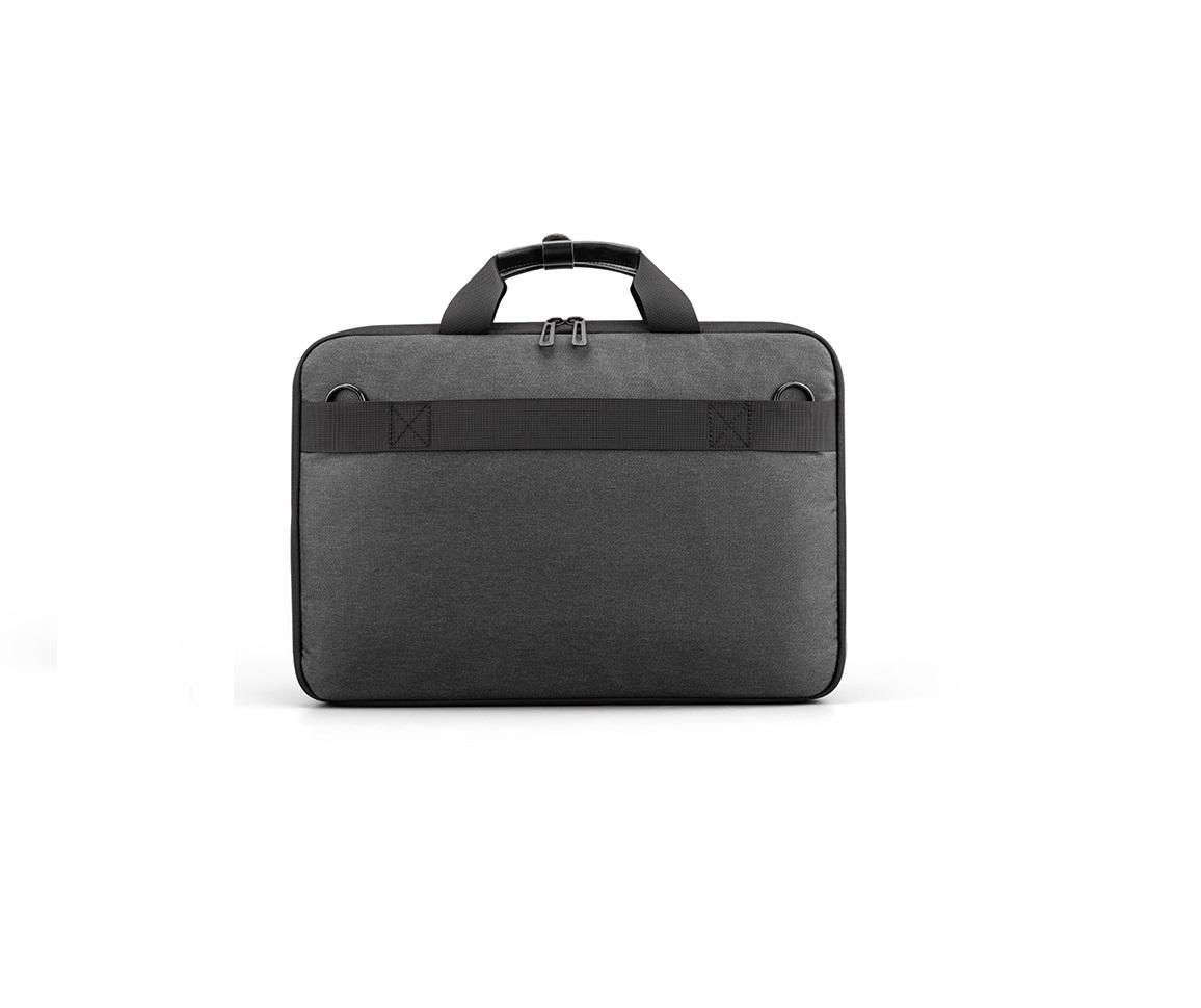 """Geanta notebook Serioux, SMART TRAVEL ST9610, dimensiuni 43 x 11 x 30 cm, rezistent la apa, compartimente multiple, compartimet laptop pana la 15.6"""", bretea spate pentru prindere troller, curea de umar ajustabila, material poliester - imaginea 2"""
