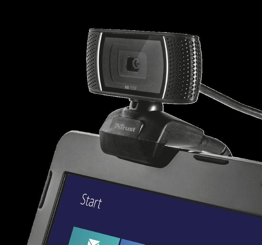 Camera WEB Trust Trino HD Video Webcam - imaginea 7