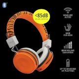 Casti cu microfon Trust Comi Bluetooth Wireless Kids Headphones Orange - imaginea 6