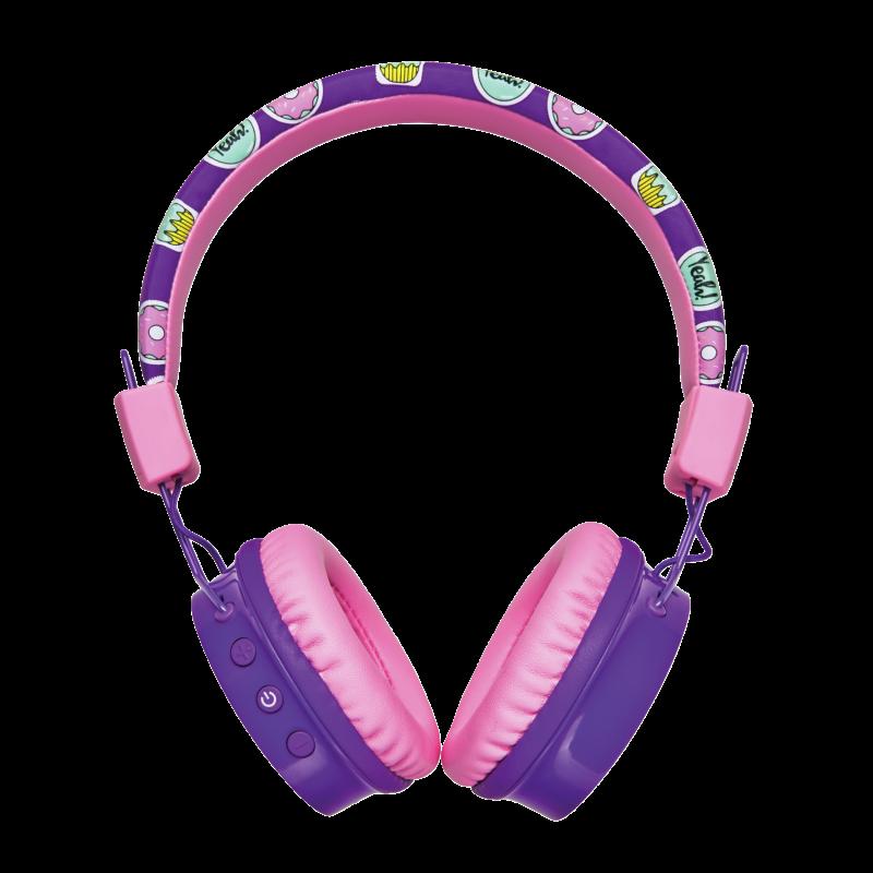 Casti cu microfon Trust Comi, Wireless Kids, purple - imaginea 12