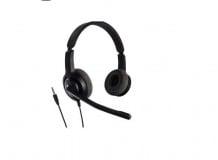 Casti cu microfon Axtel Voice PC28 duo NC, call center, negru
