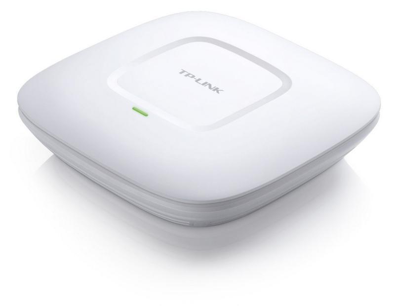 Wireless Access Point TP-Link EAP110, 1xFast Eternet ,2*antenainterna3dBi, N300, kit montare tavan inclus - imaginea 1
