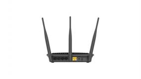 Router Wireless D-link DIR-809, 1xWAN 10/100, 4xLAN 10/100, 3x anteneexterne, dual-band AC750 (433/300Mbps) - imaginea 1