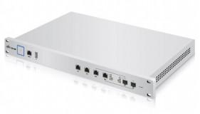 Ubiquiti UniFi Security Gateway USG-PRO-4, 2x Gigabit WAN, 2x Gigabit LAN, 2x SFP, 1x USB, Cpu Dual-Core 1GHz, 2 GB DDR3 RAM, 4GB flash