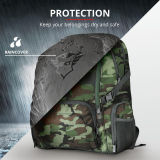 """Rucsac Trust GXT 1250G Hunter Gaming Backpack for 17.3"""" laptops - green camo - imaginea 8"""