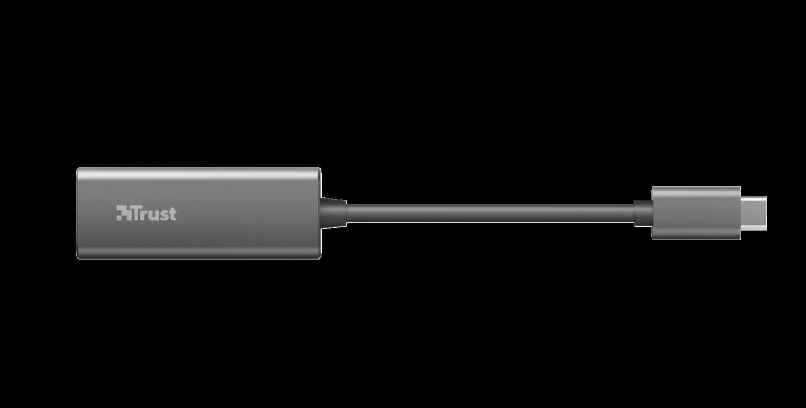 Adaptor Trust Dalyx USB-C to Ethernet Adapter - imaginea 7