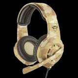 Casti cu microfon Trust GXT 310D Radius Gaming Headset, desert camo - imaginea 1