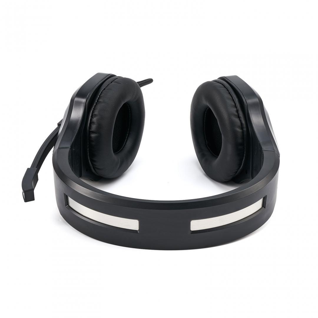 Casti cu microfon X by Serioux, Gaming, ADAIR, difuzor: 40mm, impedanță 32 Ω, sensibilitate 118DB / 1KHZ, interval de frecvență 20 Hz-20 kHz, THD <= 1, putere nominală 15mW ,putere maxima 30mW,dimensiunea microfonului 6,0 × 2,7 mm, sensibilitate -42 ± 3dB,directivitate omni- direcțională, impedanță - imaginea 4