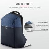 "Rucsac Trust Nox Anti-theft Backpack 16"" Blue - imaginea 3"