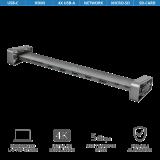Adaptor Trust Dalyx Aluminium 10-in-1 USB-C Multi-port Dock - imaginea 2