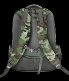 """Rucsac Trust GXT 1250G Hunter Gaming Backpack for 17.3"""" laptops - green camo - imaginea 4"""