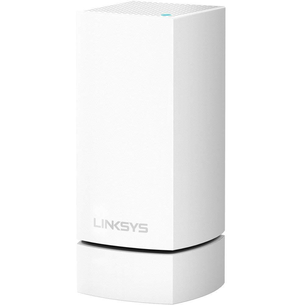 Linksys Velop Whole Home Wi-Fi Mesh Wall Mount, WHA0301; Engineered to perfectly fit all Velop nodes precisely (Velop Mesh System is not included); Cable management makes excess cable coils neatly within the Velop Wall Mount; Requires a screwdriver for set-up; Colour: white; - imaginea 1