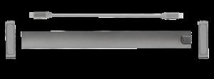 Adaptor Trust Dalyx Aluminium 10-in-1 USB-C Multi-port Dock - imaginea 13