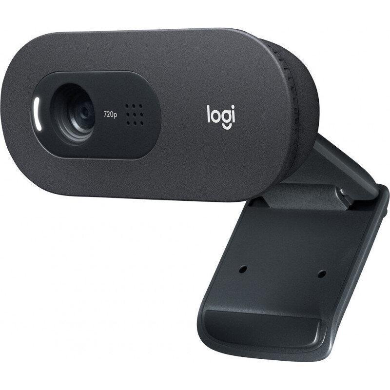 Logitech WebCam C505e HD Black - imaginea 1