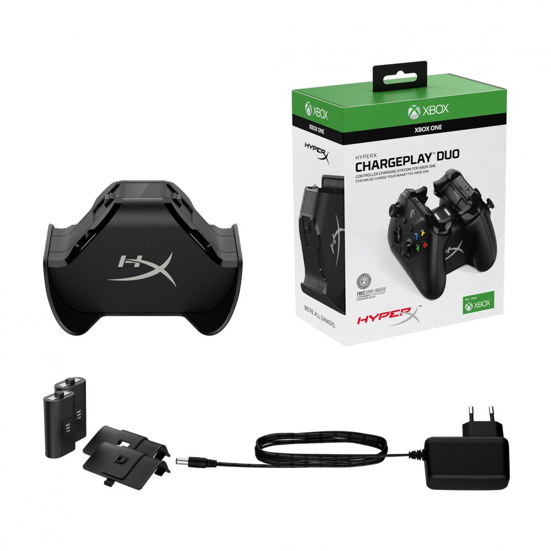 KS HyperX Charger, QI Wireless, Output: up to 5V, Cable length: 2m, Capacity: 100-240V AC, 50/60Hz, 0.4A - imaginea 1