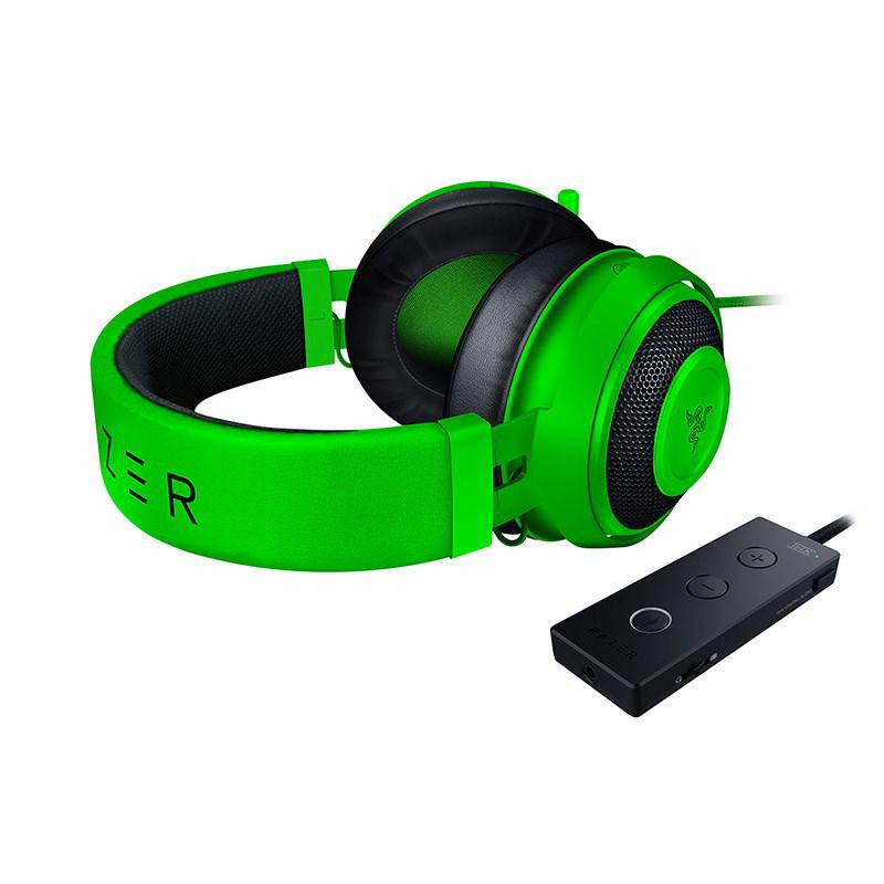 Casti cu microfon Razer Kraken Tournament Edition, verde - imaginea 2