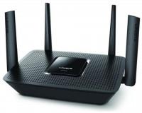 Router Wireless Linksys EA8300, 1xWAN Gigabit, 4xLAN Gigabit, 4 antene externe, Tri-Band (5 GHz + 5GHz + 2.4 GHz), 2x2 AC, AC2200 (N400 + AC867 + AC867), 1x USB 3.0 port, Processor:716Mhz Quad-core, mEMORY: RAM: 256MB; Flash: 256MB.