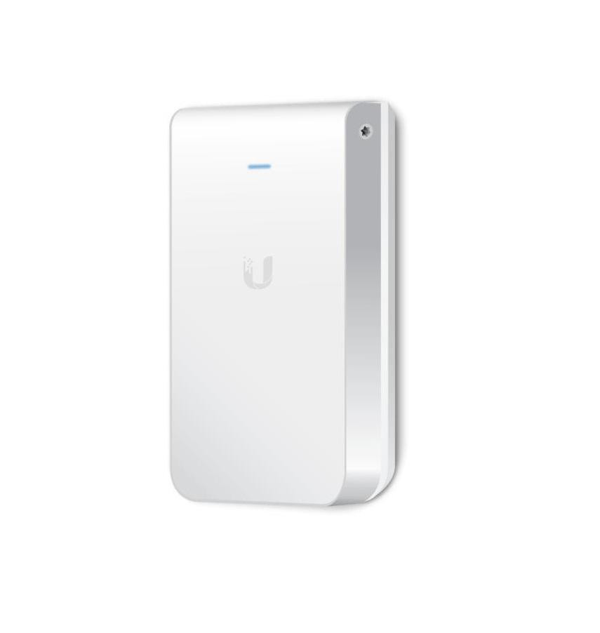 Ubiquiti UniFi Acess Point Wave 2 In-Wall Hi-Density UAP-IW-HD, 5x Gigabit LAN, AC2100 (300+1733Mbps) 2x2 MIMO 2.3GHz, 4x4 MIMO 5GHz, Indoor, 802.3af PoE sau 802.3at PoE+, Recommended Maximum Number of Users=80, Theoretical Maximum Number of Users=200, Wireless Uplink, DFS Certification, PoE - imaginea 1