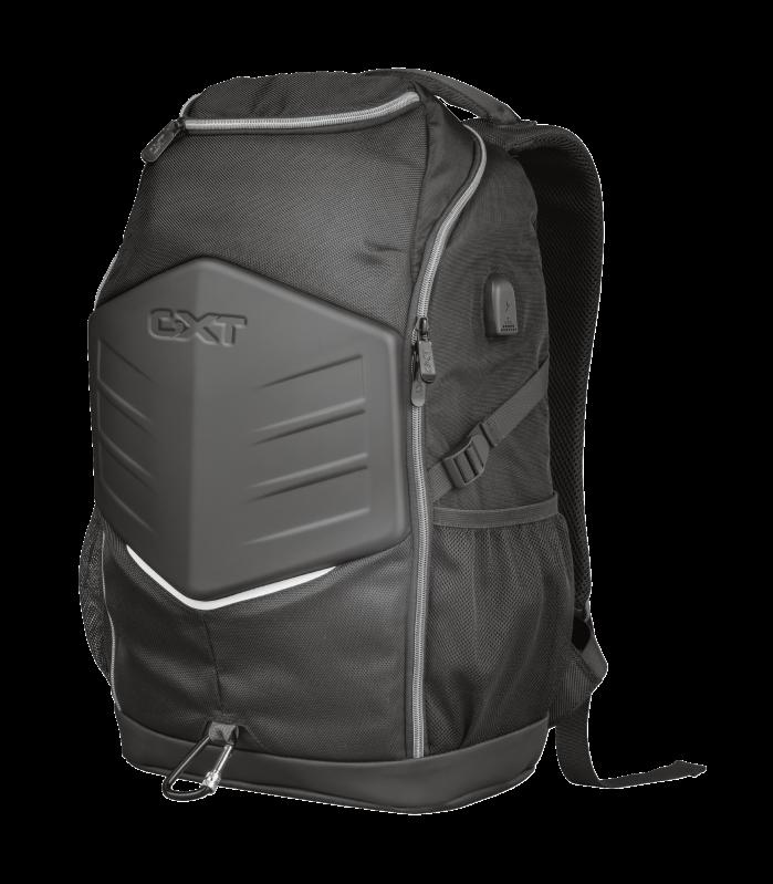 """Rucsac Trust GXT 1255 Outlaw Gaming Backpack 15.6"""" Black - imaginea 1"""
