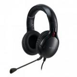 Casti cu microfon X by Serioux, Gaming, CRONAN, difuzor: 40mm, impedanță 32 Ω, sensibilitate 118DB / 1KHZ, interval de frecvență 20 Hz-20 kHz, THD <= 1, putere nominală 15mW ,putere maxima 30mW,dimensiunea microfonului 6,0 × 2,7 mm, sensibilitate -42 ± 3dB,directivitate omni- direcțională, impedanță - imaginea 1