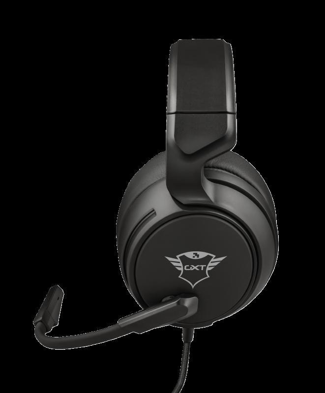 Casti cu microfon Trust GXT 433 Pylo Multiplatform Gaming, negru - imaginea 5