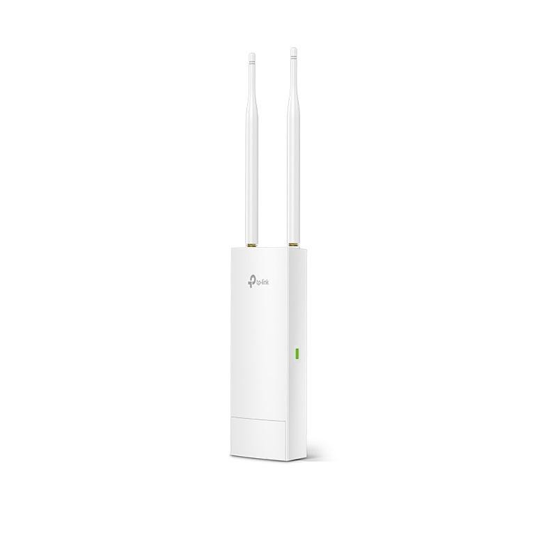 TP-Link 300Mbps Wireless N Outdoor Access Point, EAP110-OUTDOOR ,FastEthernet (RJ-45) Port *1(Support Passive PoE), antena: 2*5dBi ExternalOmni waterproof, Button: Reset, Pole/WallMounting(Kitsincluded) - imaginea 1