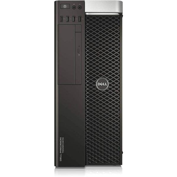 Workstation Dell Precision T5810 Tower, Intel 4 Core Xeon E5-1620 v3 3.5 GHz, 128 GB DDR4 ECC, 500 GB SSD SATA, DVDRW, Placa Video nVidia Quadro M5000, 8 GB GDDR5, Windows 10 Pro, 3 Ani Garantie - imaginea 2