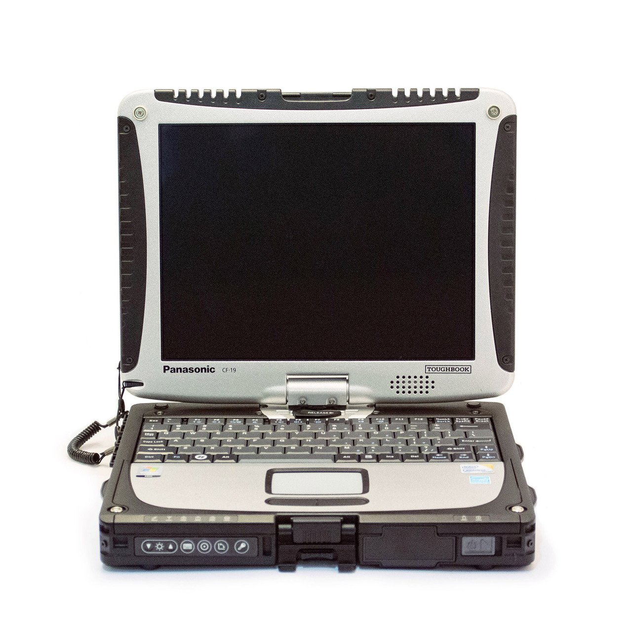 "Laptop Panasonic Toughbook CF-19 MK3, Intel Core 2 Duo SU9300 1.2 GHz, WI-FI, Bluetooth, Display 10,4"" 1024 by 768 Touchscreen, 2 GB DDR2, 250 GB SSD SATA, Second Hand - imaginea 1"