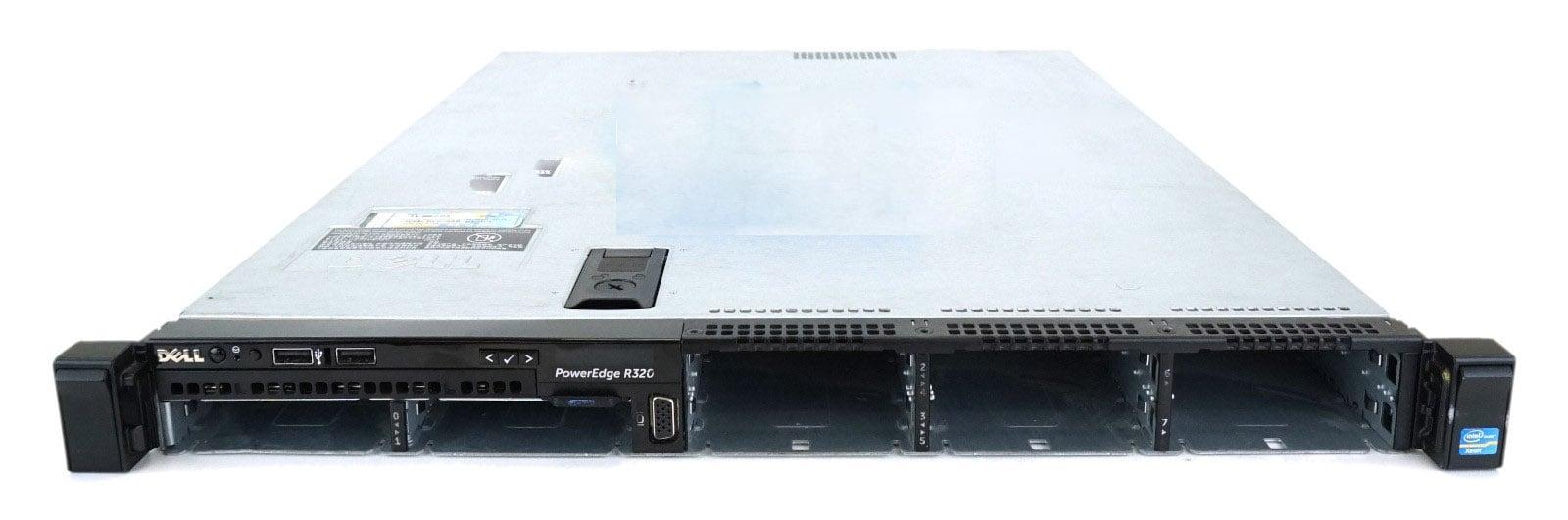 Server Dell PowerEdge R320, Intel 6 Core Xeon E5-2420 1.9 GHz, 16 GB DDR3 ECC, 2 x 256 GB SSD, 4 Ani Garantie - imaginea 1